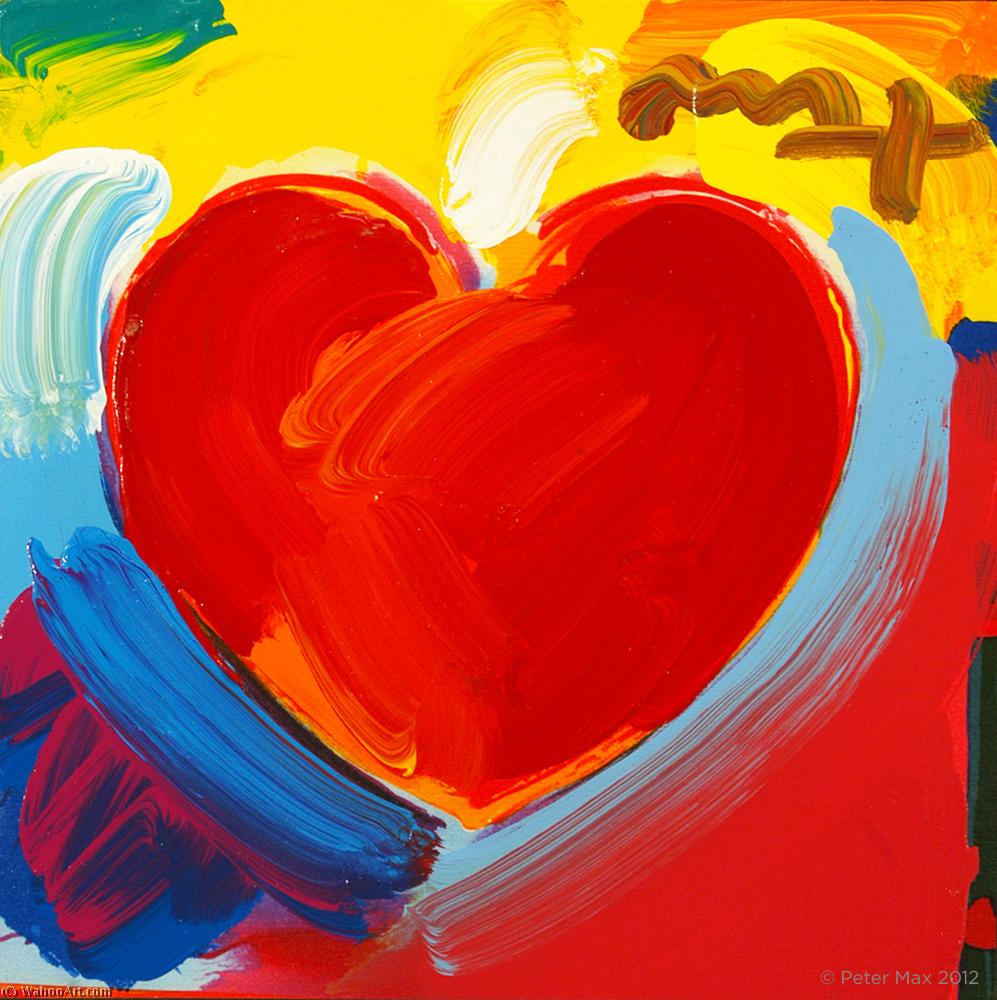 famous painting Heart of Peter Max