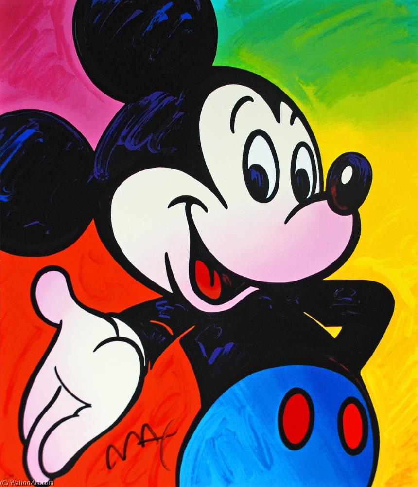 famous painting Mickey of Peter Max
