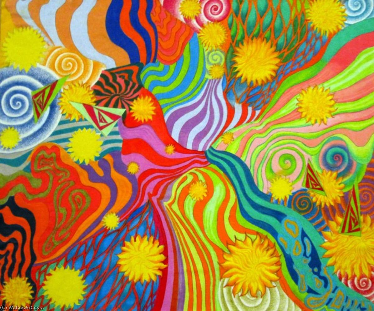 | Sunshine daydream by Peter Max | BuyPopArt.com