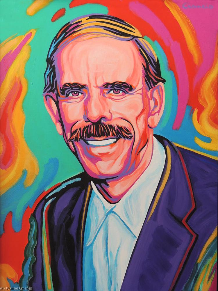 famous painting Tarcisio ciancio of Peter Max