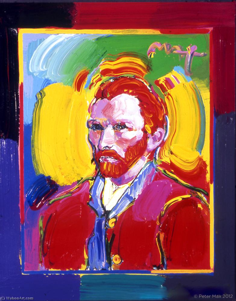 famous painting Van gogh of Peter Max