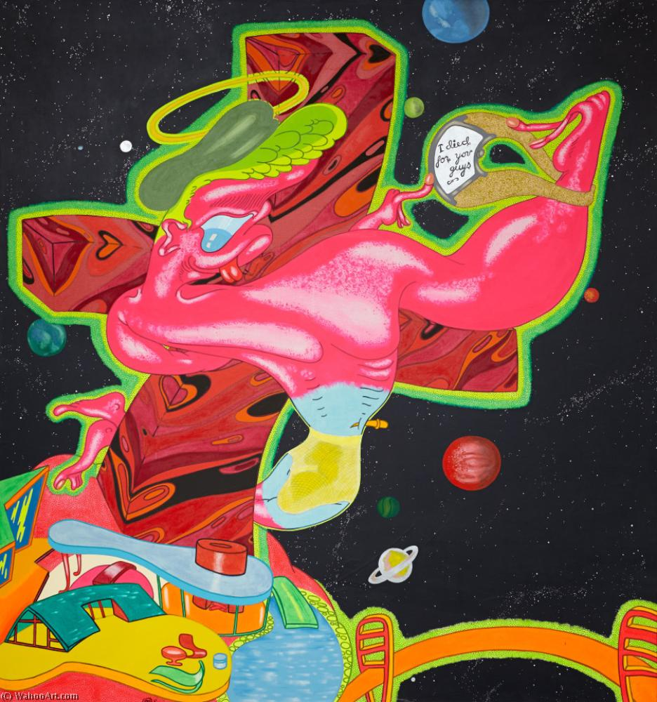 famous painting No title (2) of Peter Saul