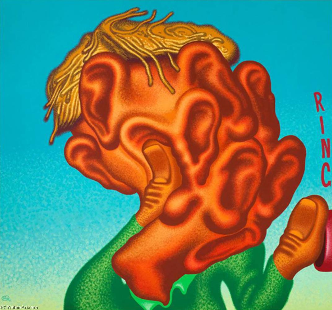 famous painting The listener of Peter Saul