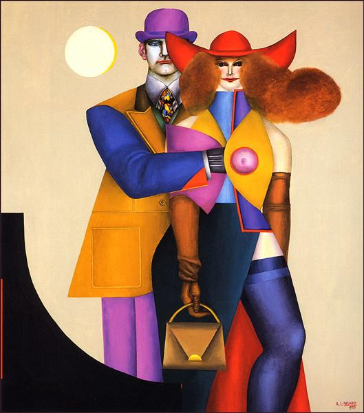 famous painting Couple of Richard Lindner