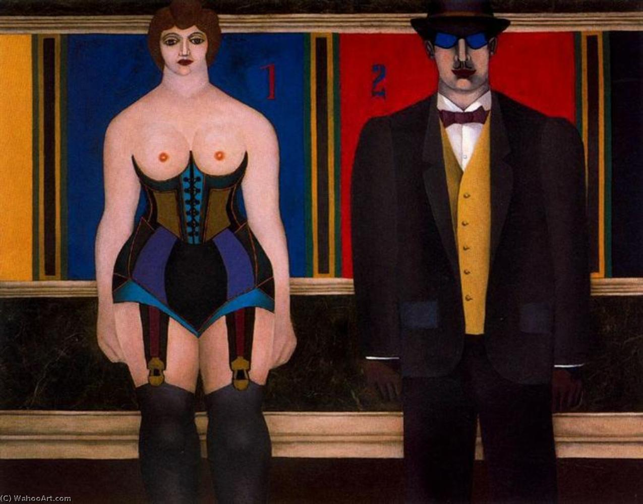 famous painting I ii of Richard Lindner