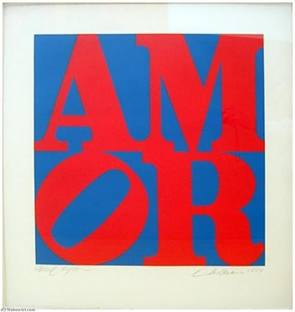 famous painting Amor of Robert Indiana