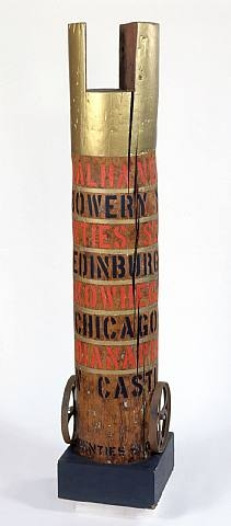 famous painting Bob's column of Robert Indiana