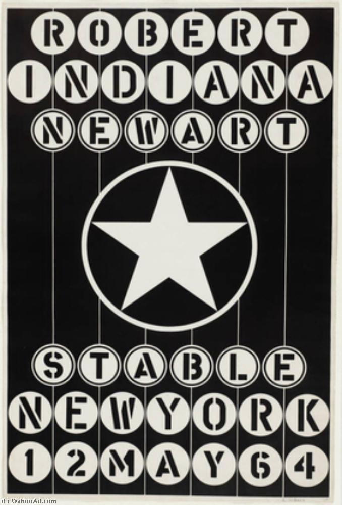 | New art stable new york by Robert Indiana | BuyPopArt.com