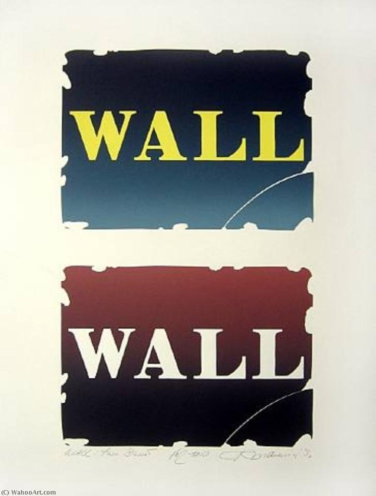 Order Reproductions Pop Art | Wall two stone by Robert Indiana | BuyPopArt.com