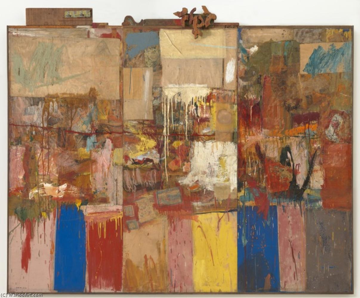 famous painting Collection of Robert Rauschenberg
