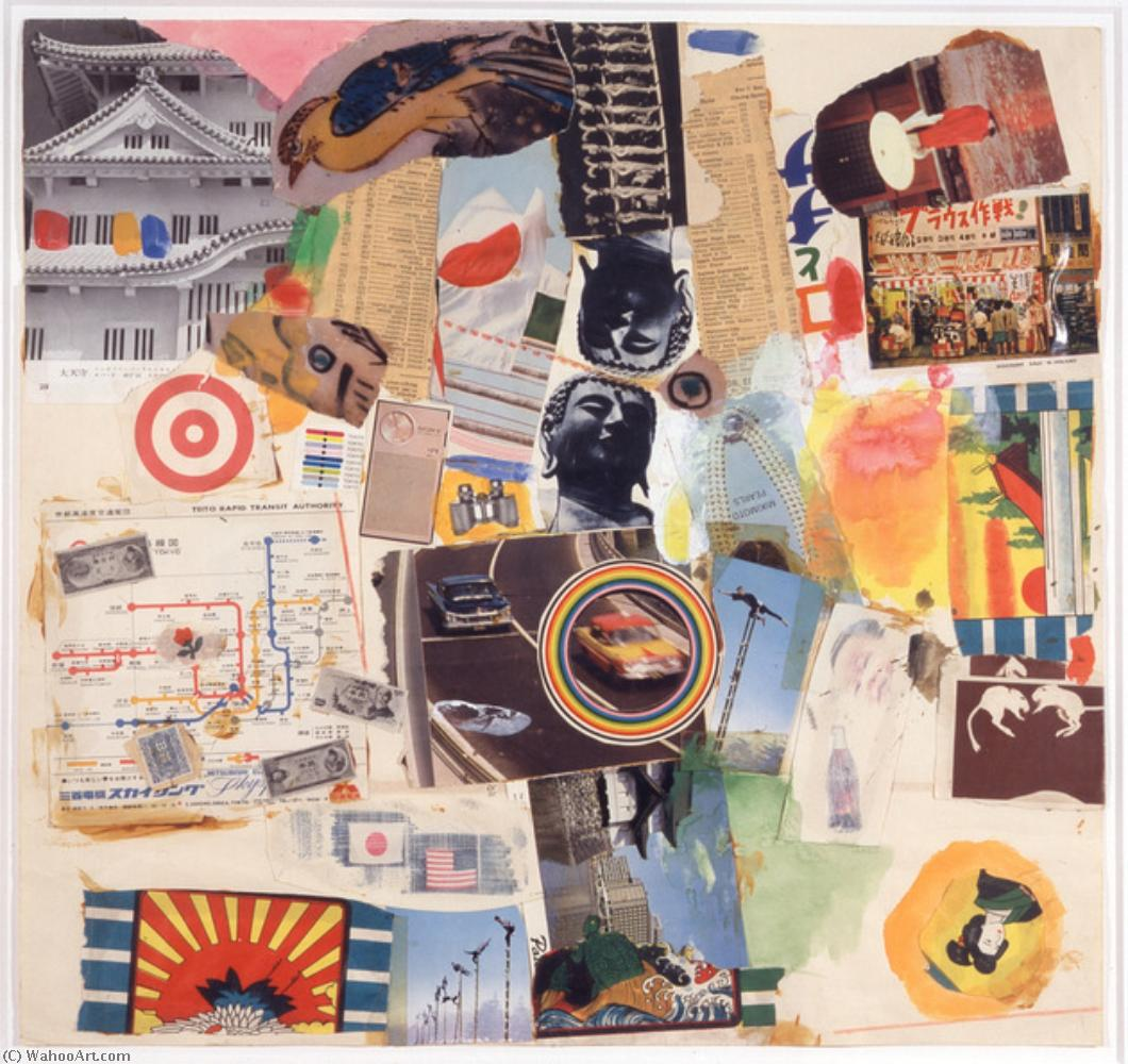 famous painting Fig of Robert Rauschenberg