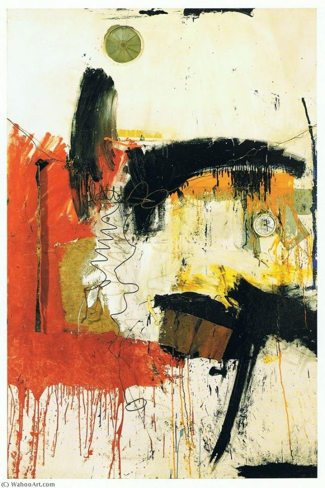 famous painting First time painting of Robert Rauschenberg