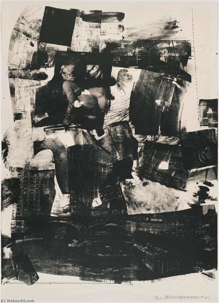 famous painting Kip up of Robert Rauschenberg