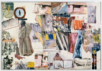 famous painting Port of entry of Robert Rauschenberg