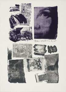 Robert Rauschenberg - Self portrait at Black Mountain College