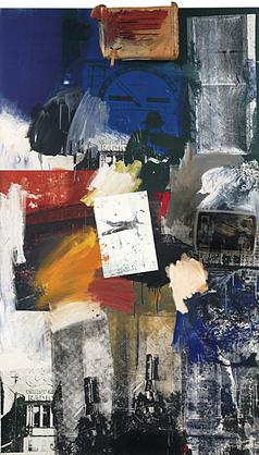 famous painting Untitled (2) of Robert Rauschenberg