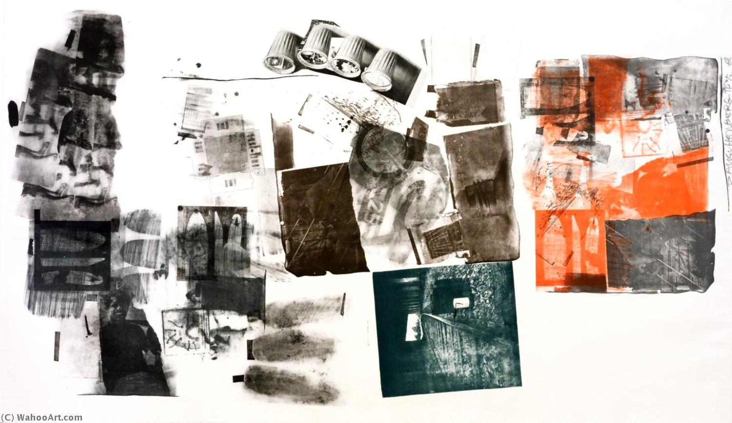famous painting Water stop of Robert Rauschenberg