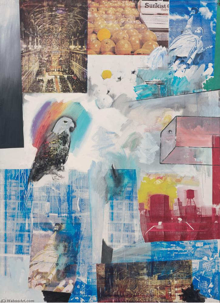 famous painting Windward of Robert Rauschenberg
