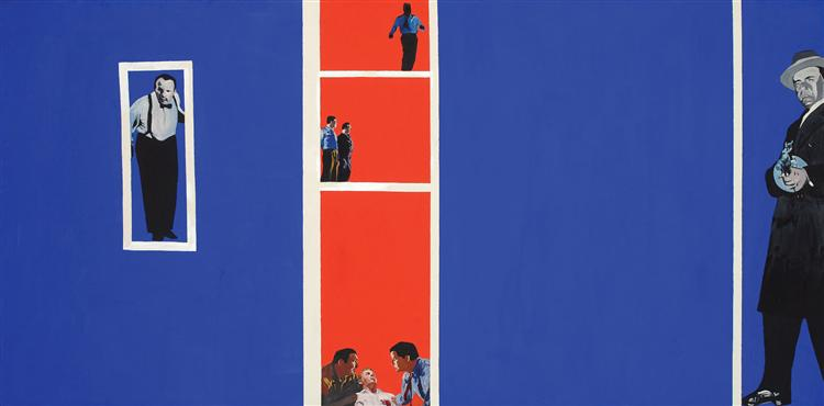 Order Art Reproductions Pop Art : Home movies by Rosalyn Drexler | BuyPopArt.com