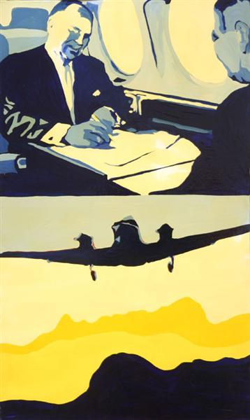 famous painting Lear executive of Rosalyn Drexler