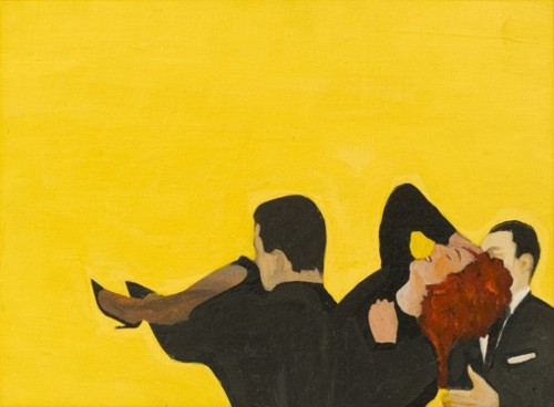 famous painting This is my wedding of Rosalyn Drexler