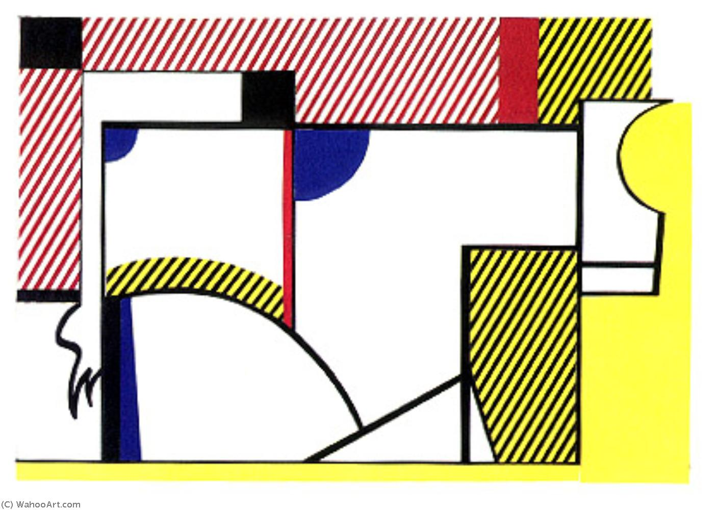 famous painting Bull (2) (1973) of Roy Lichtenstein