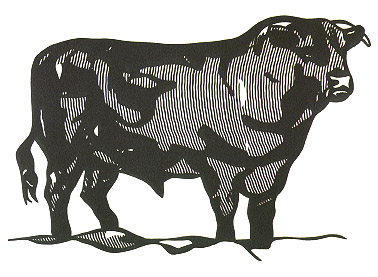 Order Art Reproductions Pop Art : Bull by Roy Lichtenstein | BuyPopArt.com