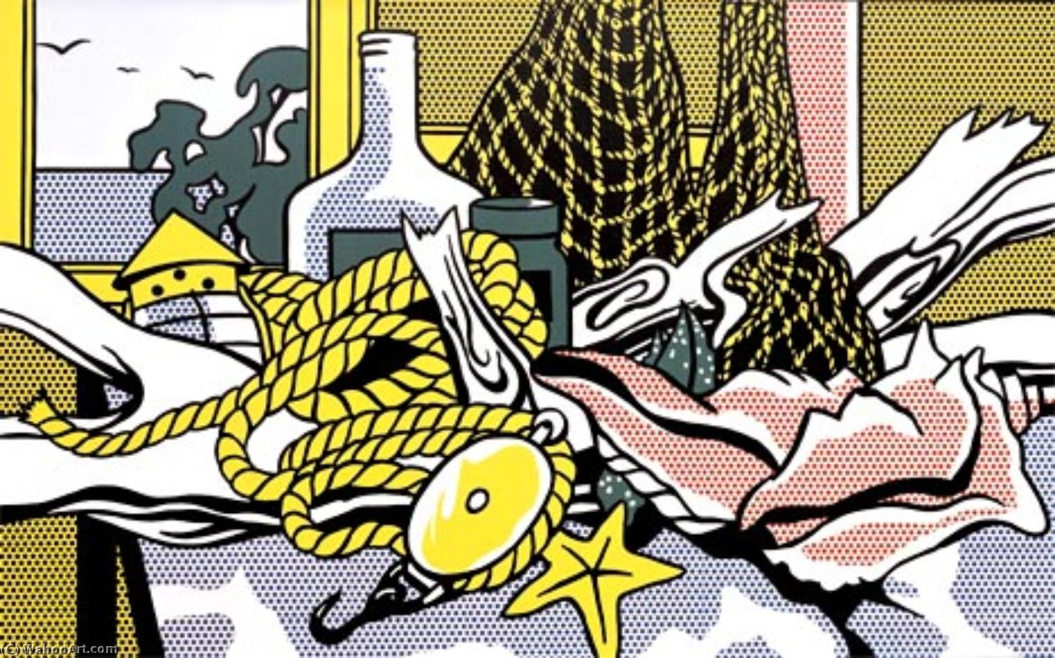 famous painting Cape cod still life of Roy Lichtenstein