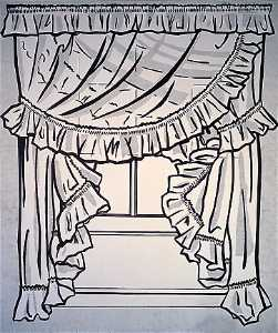 Roy Lichtenstein - Curtains