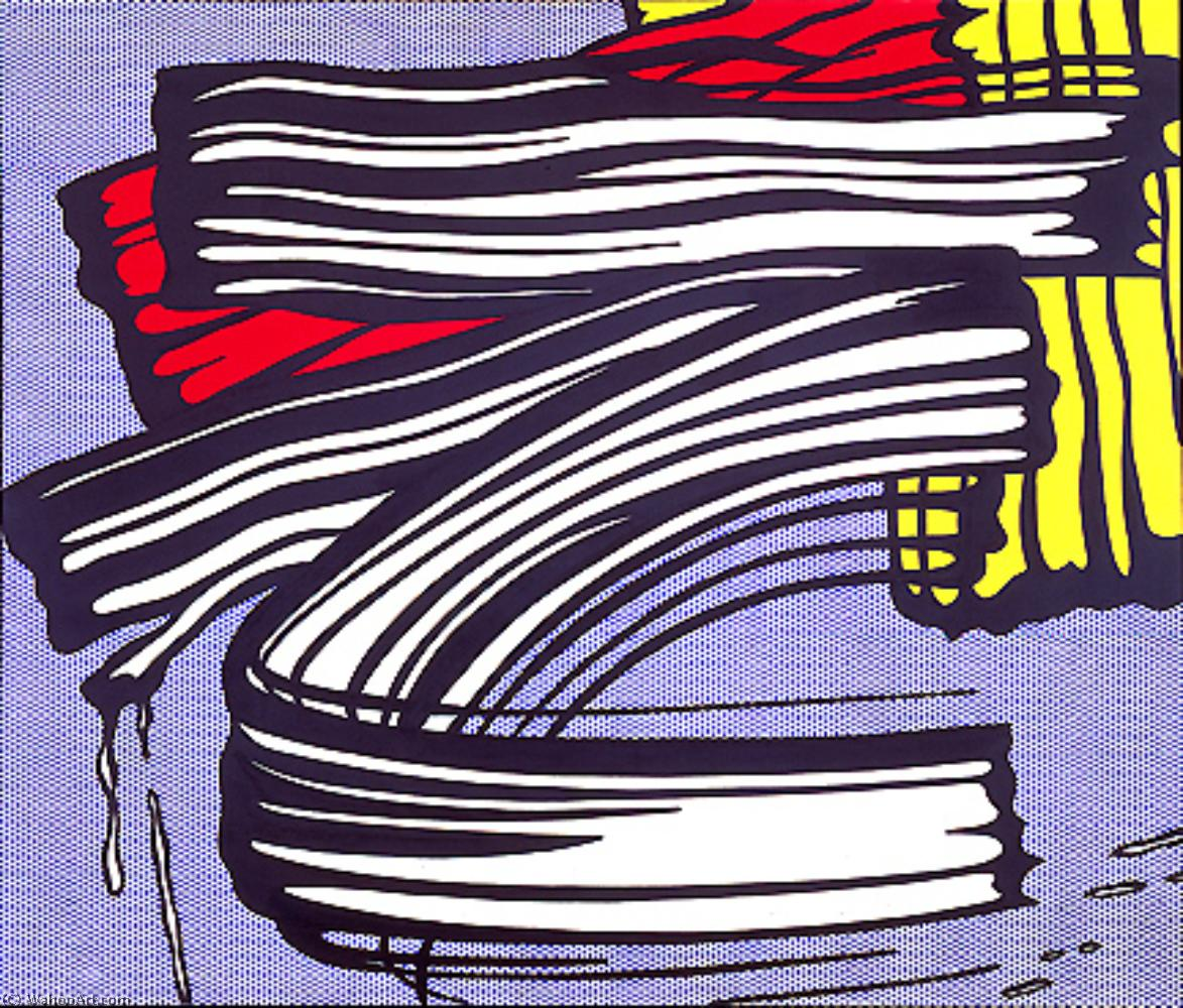 famous painting Little big painting of Roy Lichtenstein