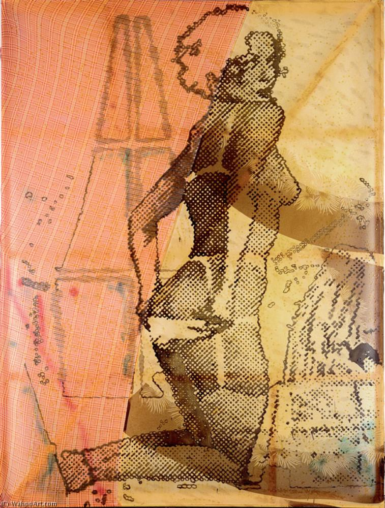 famous painting B mode of Sigmar Polke