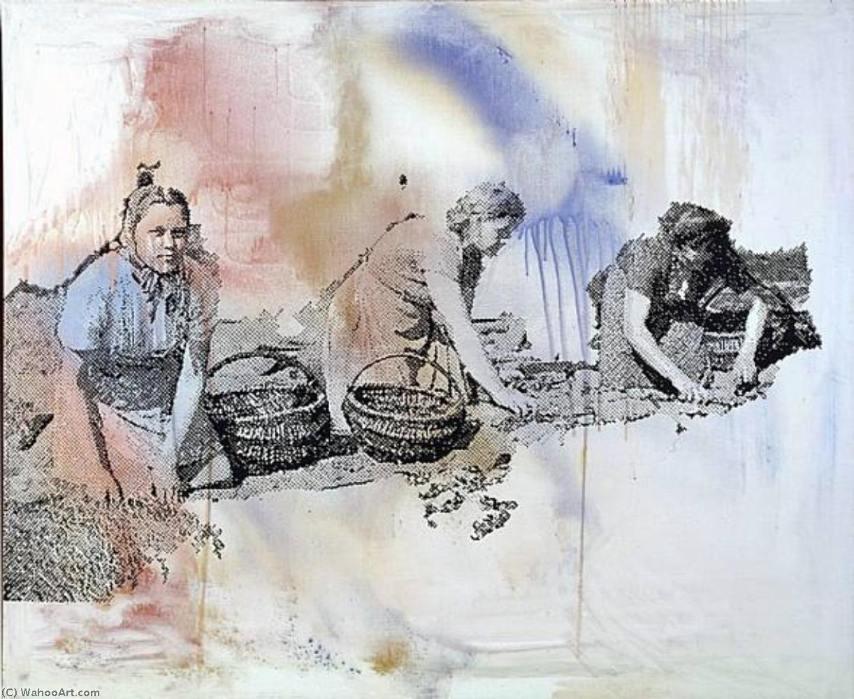 famous painting Sunday of Sigmar Polke