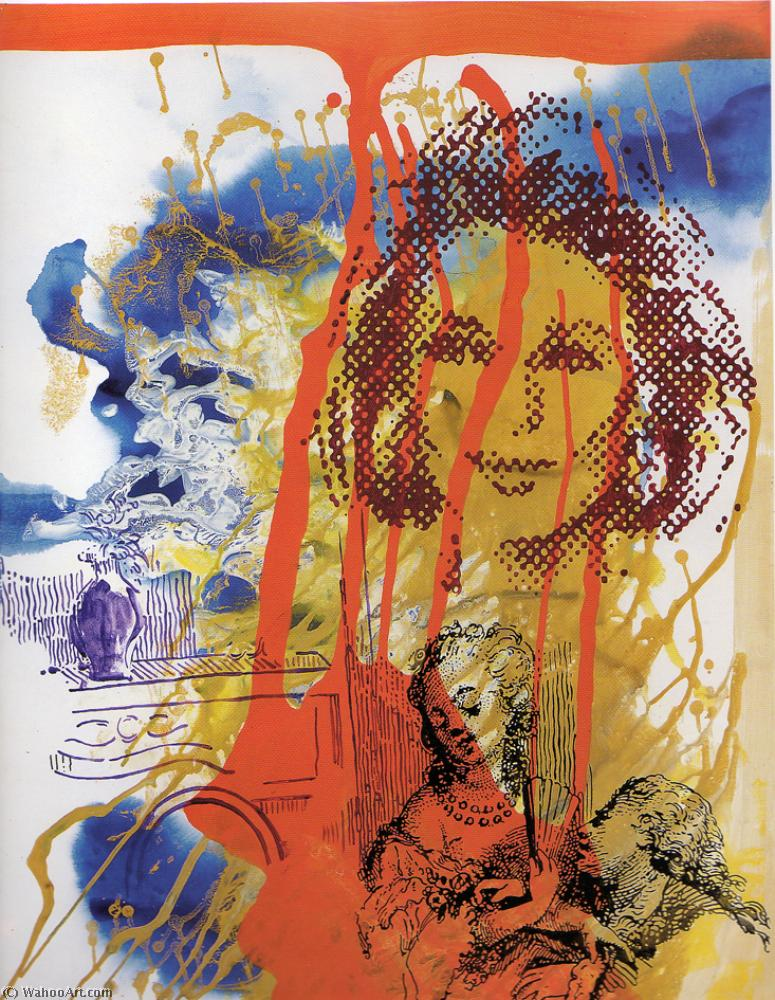 | Woman exchanged by Sigmar Polke | BuyPopArt.com