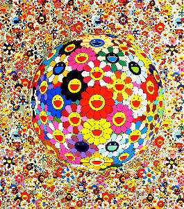Takashi Murakami - Flower ball
