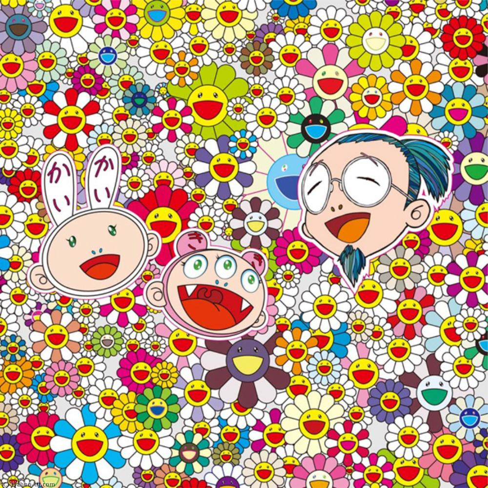 | Self portraits exhibition preview by Takashi Murakami | BuyPopArt.com