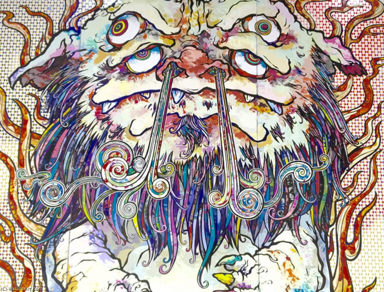 famous painting The 500 arhats of Takashi Murakami