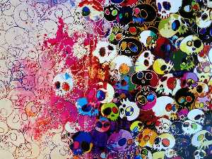 Takashi Murakami - Who s afraid of red yellow blue and death
