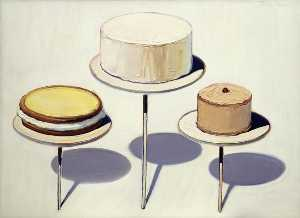 Wayne Thiebaud - Display cake