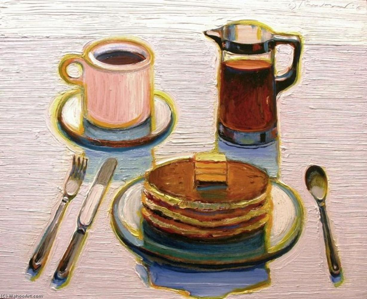 Wayne Thiebaud Most Famous Paintings