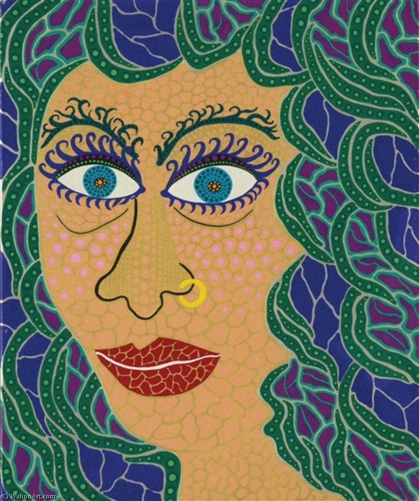 Order Paintings Reproductions Pop Art : Watching th sea by Yayoi Kusama | BuyPopArt.com
