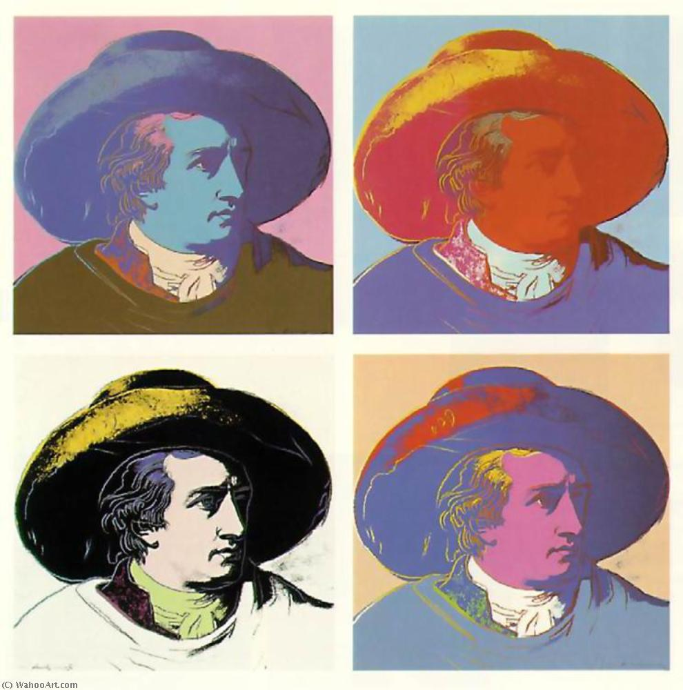 famous painting Gothe of Andy Warhol