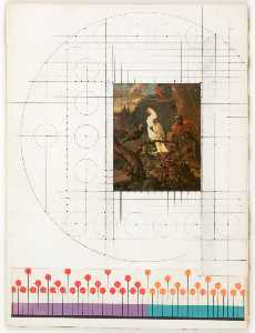 Joseph Cornell - Untitled (white cockatoo and other birds)
