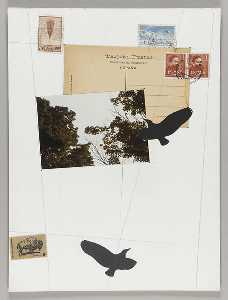 Joseph Cornell - Untitled (Spanish postcard, address side)