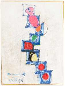 Joseph Cornell - Untitled (Toy Blocks)