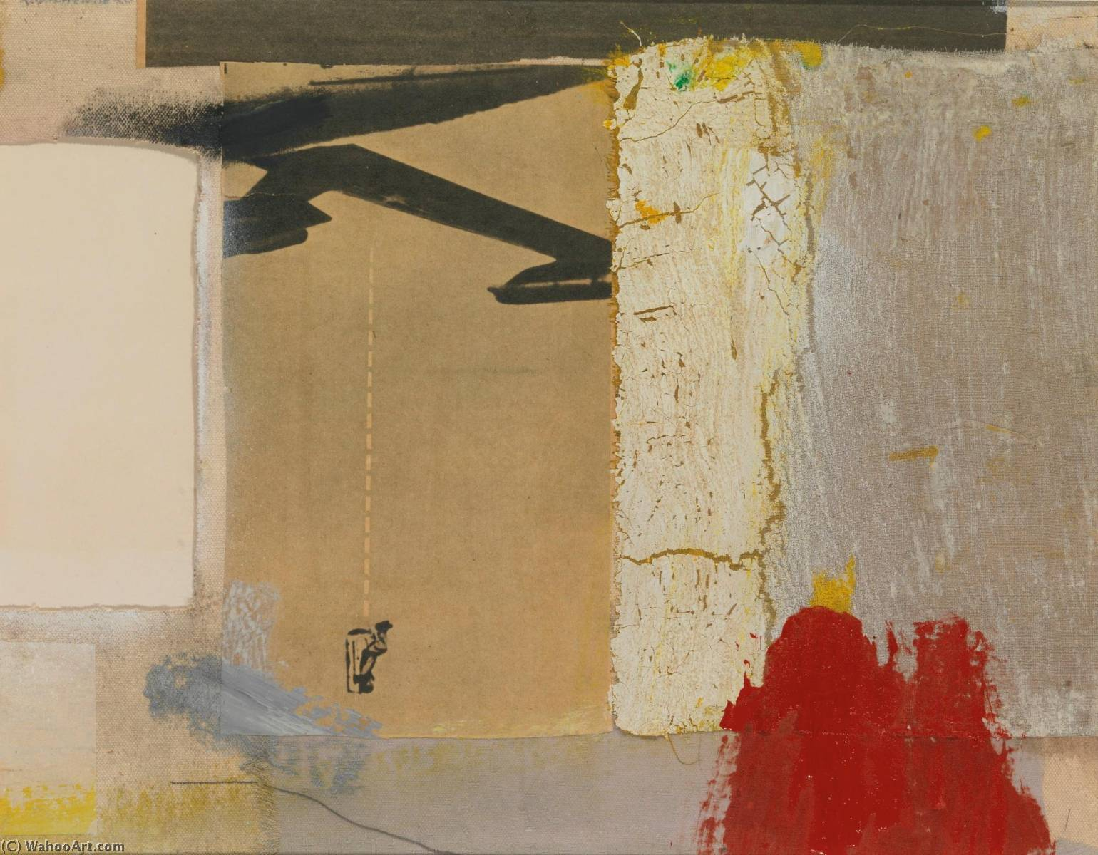 famous painting Untitled of Robert Rauschenberg