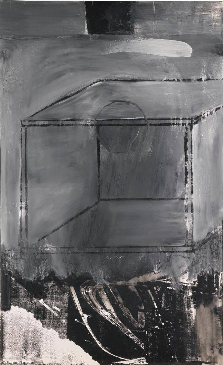 famous painting Untitled (Small oil on canvas 4) of Robert Rauschenberg