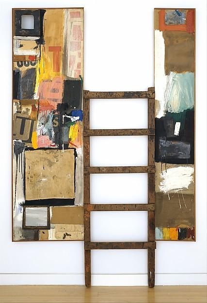famous painting Winter Pool of Robert Rauschenberg