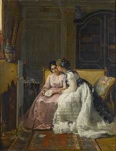 Charles Baugniet - The Love Letter