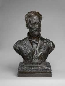 Augustus Saint Gaudens - General William Tecumseh Sherman (Bust)