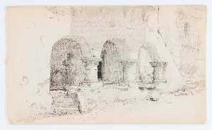 Howard Russell Butler - Untitled (Three Arches)